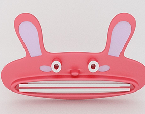 3D printable model Bunny Paste Pusher