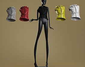 3D Mannequin6014 coll60 lightweught padded vest character
