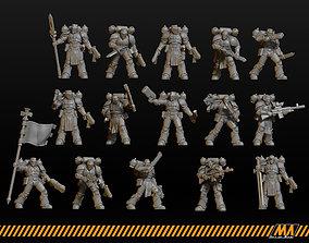 Templars 3D printable model