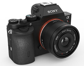Sony Alpha 7R camera 3D model