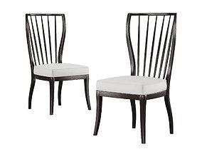 3D asset A Rudin - Side chair No 855 V2