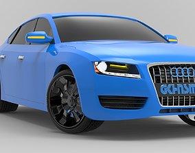 Audi A5 3d Model race
