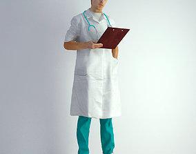 3D Scan Man Doctor 022 hospital