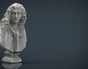 BUST 3D asset low-poly ancient