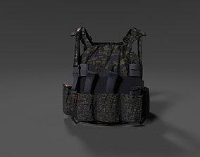 SOLDIER Bulletproof Vest 3D model