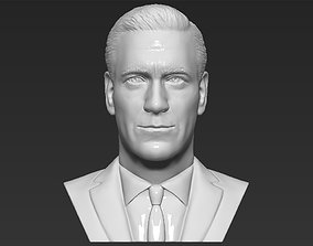 Don Draper Mad Men bust 3D printing ready stl obj