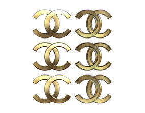 3D printable model Chanel logo replica