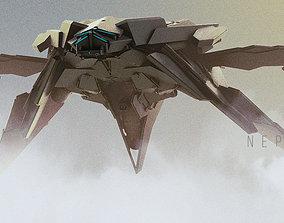 SpaceShip Nephilim 3D model