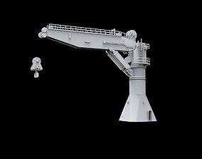 3D print model Crane A for Kreuz Installer Vessel