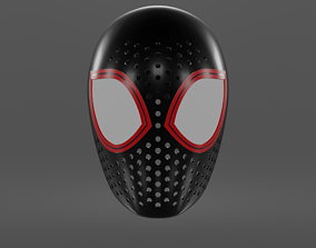 3D print model Spiderman Into The SPiderverse Miles 2