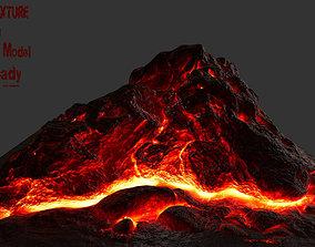 Lava Rock 3D asset realtime