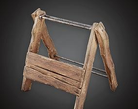 Tool Rack -MVL - PBR Game Ready 3D asset