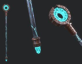 Fantasy Stylish- Staff of Blink 3D model