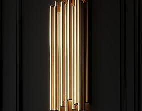 3D Modern Crystal Wall Lamp