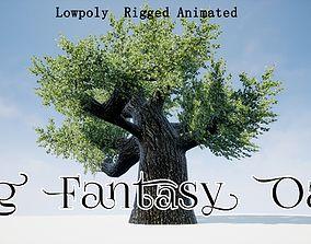 Big Fantasy Oak 3D model
