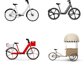 Bicycle Colection 3D