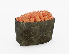 3D model realtime Ikura Sushi