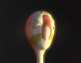 Alien Monk 3D model