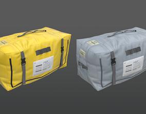 Spaceship Cargo Bag PBR Game Ready 3D model