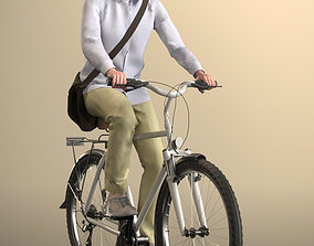 Will 20020-06 - Animated Cycling Man 3D model