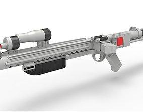 3D Range trooper Blaster rifle E-10R from Solo A Star Wars