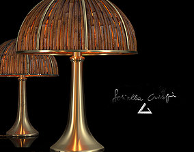 3D model Table Lamp Bamboo Fungo by Gabriella