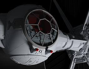 Star Wars Imperial Tie Fighter 3D