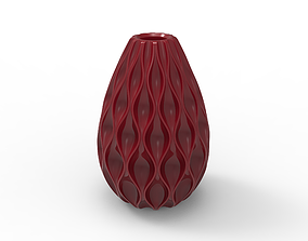 3D print model Rain drop leak vase