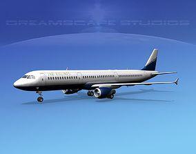 Airbus A321 JAB 3D model