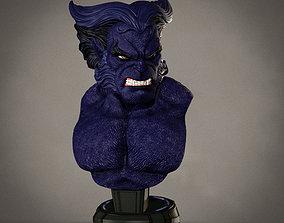 Campbells Beast Bust bust 3D printable model
