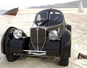 3D bugatti 57 SC atlantic