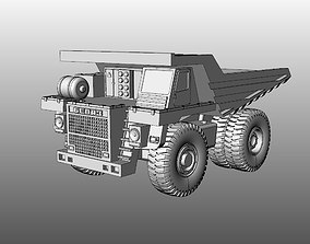 3D printable model Tip truck Belaz