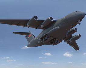 3D Xian Y-20 Transport Aircraft y20