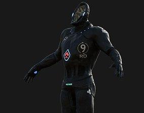 Sci- Suit Armor 3D asset