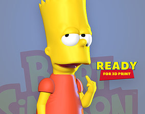 Bart Simpson 3D printable model