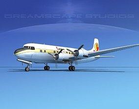 Douglas DC-6 Caribair 3D