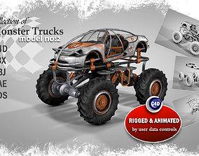 Monster Truck 2 3D animated