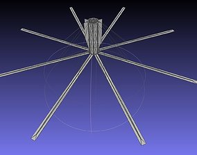 Basic Model Of A Rotating Space Habitat Concept