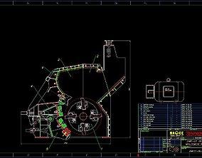 3D DMK-01 Impact crusher