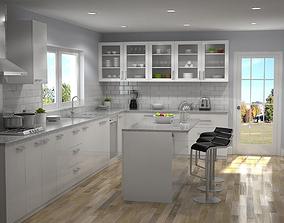 Kitchen Interior 01 3D