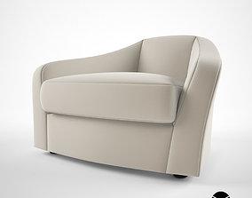Promemoria Fiore Di Loto armchair 3D model