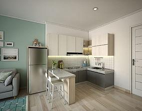 Apartement One Bedroom 3D