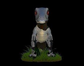 3D model Dinosaurio