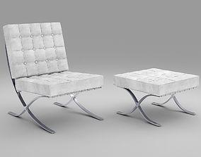 3D Barselona Knoll chair