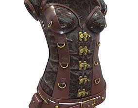 3D model SteampunK Corset Female