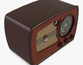 VEF Super M557 Radio 3D