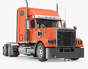 3D model 2020 Freightliner 122SD Truck