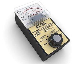 Electromagnetic Field Meter 2 3D