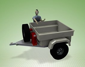 Jeep Trailer Off-Road 3D