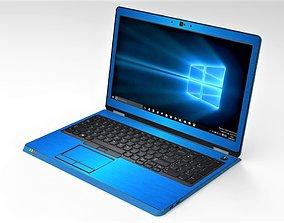 3D model Generic Laptop 1